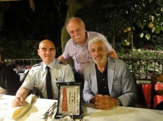 Colonnello-Gianmarco-Bellini- Enzo-Manniello- Patrizio-Rispo