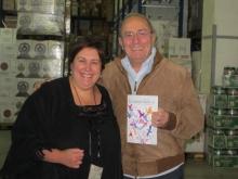 In azienda di Somma cash and carry a Sant'Agnello  con Angie Cafiero e Giuseppe Somma