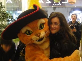 Il Gatto con gli stivali a Sorrento e Aurora Esposito