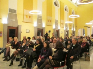 ospiti presenti all'evento a sorrento