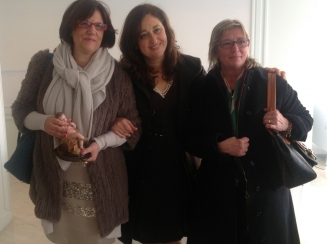 Dirigente Rosa Cirillo e professoressa Giovanna Milano San Paolo Sorrento