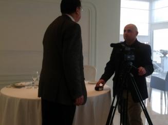 Alberto Presutti e Mattia Lauro reporter