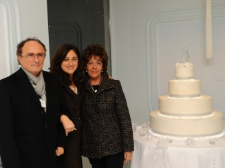 Antonino Siniscalchi giornalista e la moglie Cristina Tramontano