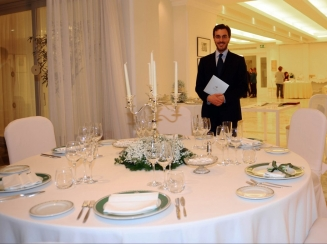 mise en plase Hotel Riviera Sorrento