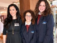 Dama Gioielli di Maione Daniela con gli alunni dell'Istituto San Paolo di Sorrento