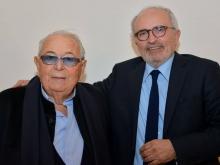 Hotel Conca Park di Sorrento con Mariano Russo albergatore ed il giornalista Antonino Siniscalchi