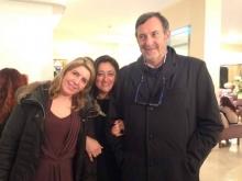 Avv. Teresa Pollio con il manager Stefano Massa Carolina Ciampa