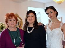 La giornalista Carmen Davolo Carolina Ciampa la modella stilista Claudia Attianese