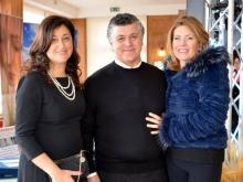 Carolina Ciampa con Adriana e Giuseppe Stinga