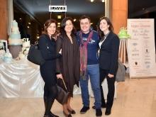 Paola Kessler con Luigi Morgan Carolina Ciampa e Aurora Esposito