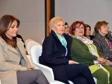 Clara Accardi con Maria Teresa De Angelis e Lucia Cilento