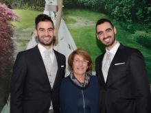 abiti di Cherie Mode Boutique di Vico Equense  con Maria Cilento