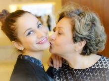 Stefania Oteri con la meravigliosa mamma Rosa Astarita