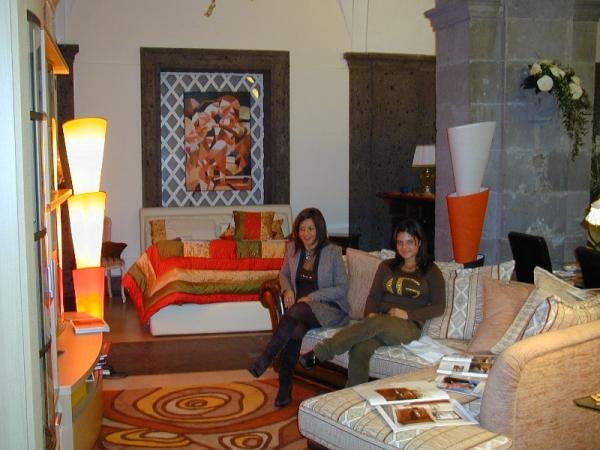 Idee sposi 2007 fiera espositiva sorrento for Arredamenti pompei
